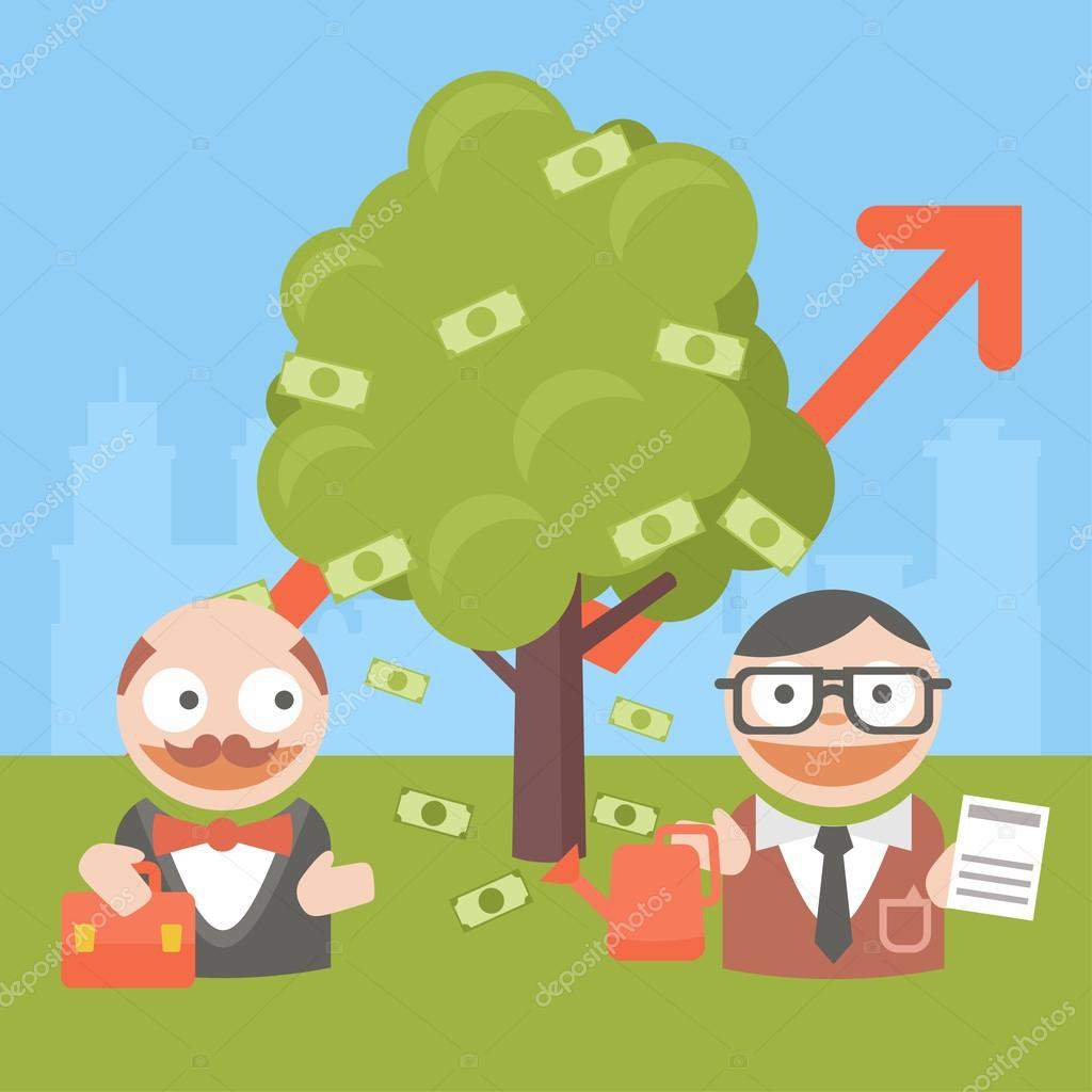 business businessman client pairs ecology schedule