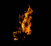 burning Fire abstract background