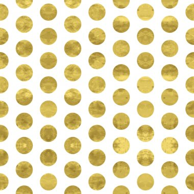 White and gold  pattern. Abstract geometric modern  polka dot background. Vector illustration.Shiny backdrop. Texture of gold foil. clip art vector