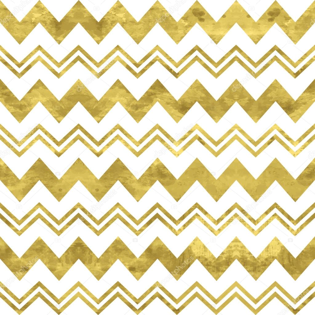 White And Gold Pattern Abstract Geometric Modern Background Vector IllustrationShiny Backdrop Texture Of Foil Classic Chevron Wallpaper