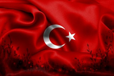 Turkish Flag, Turkish Map, Design