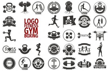 Fitnes GYM boxing logo
