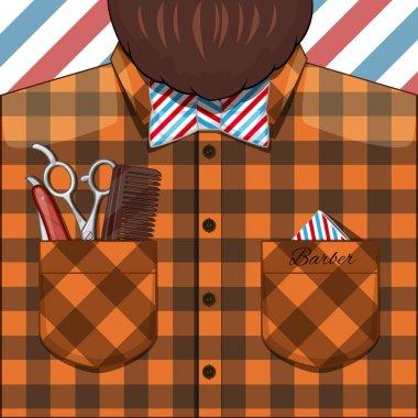 Barber Bearded Man