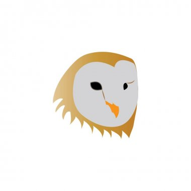 Owl logo design ilustration vector icon templat icon