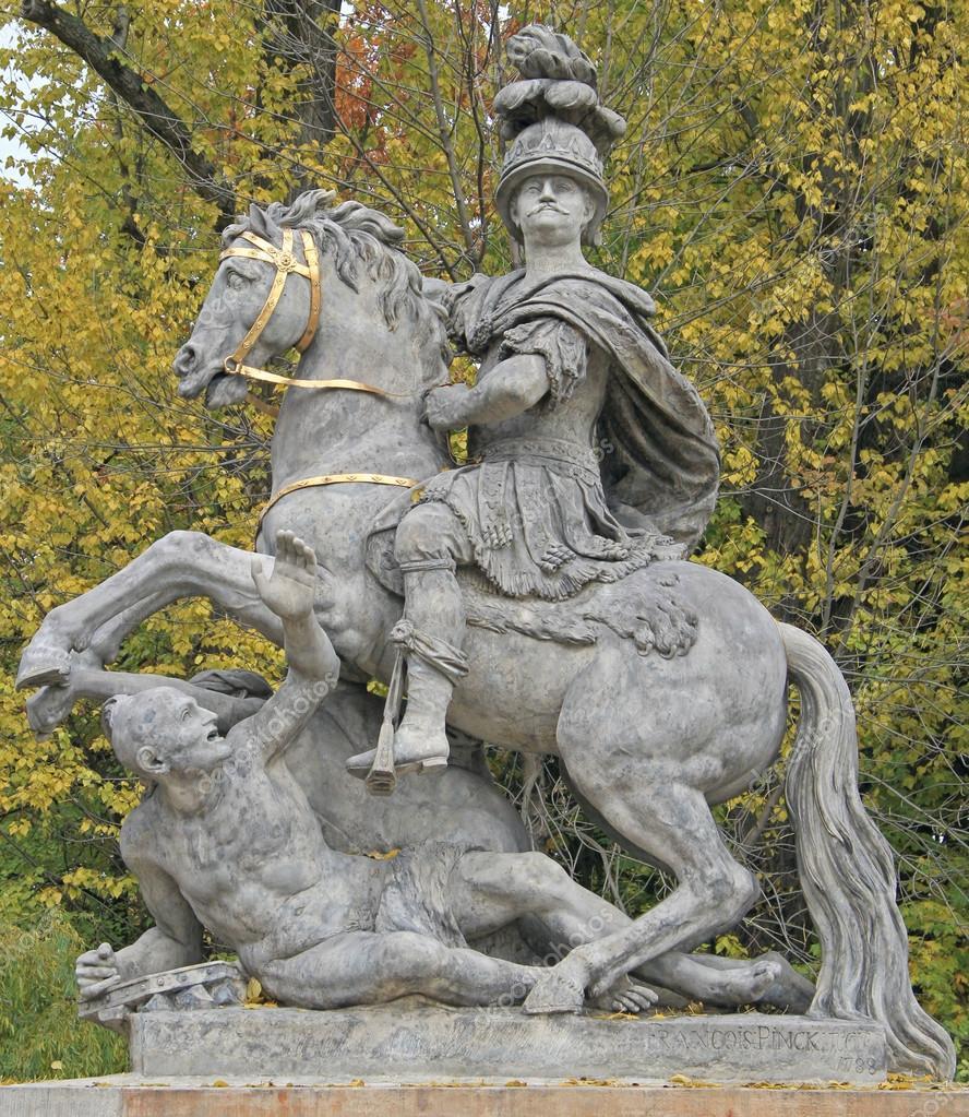 Король Ян III Собеский, Памятник в парке Лазенки/Варшава.