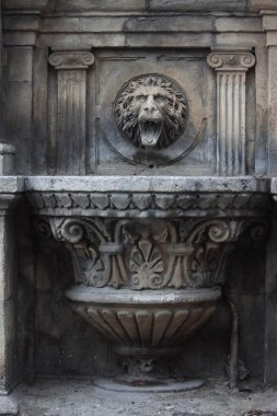 the gothic fountain in Baku