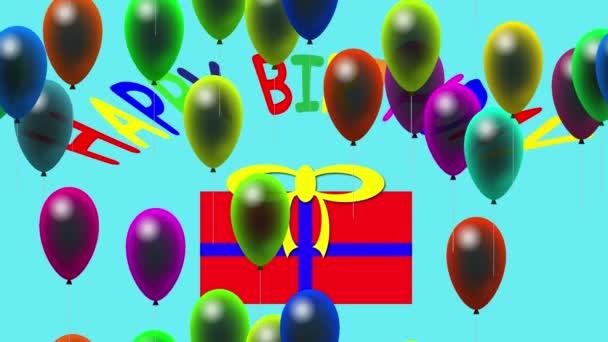 Všechno nejlepší k narozeninám video