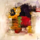 moderní Dispersed obraz výtvarného umění artprint