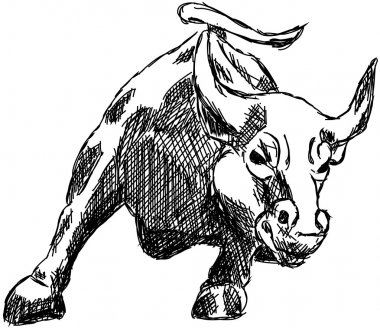 Bull market shares Wall Street money drawing