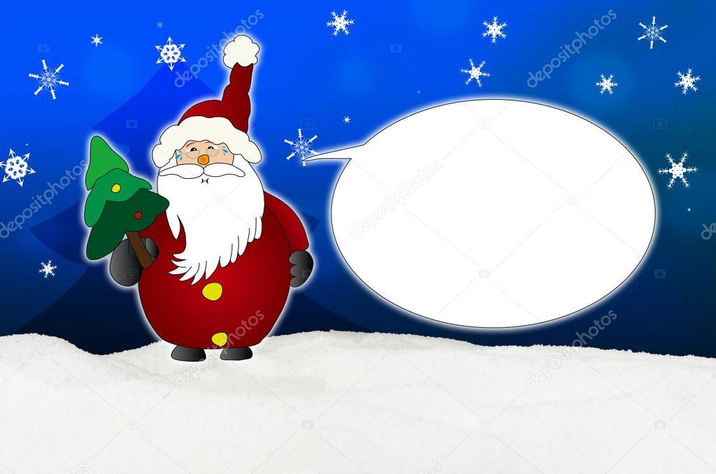 Immagini Comiche Natale.Foto Babbo Natale Comiche Palloncino Di Babbo Natale