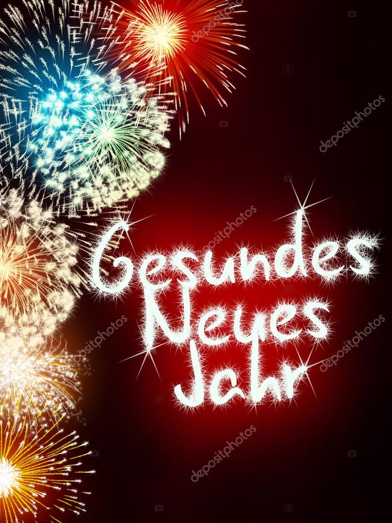 Colorful Impressive Fireworks Happy New Year Celebration U2014 Photo By  Artefacti