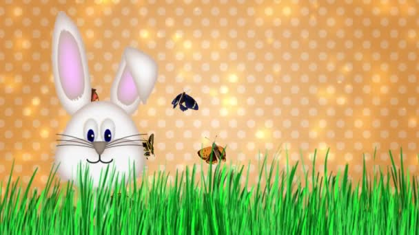 Happy Easter - Easter Bunny Video Animation