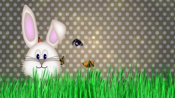 Veselé Velikonoce - Velikonoční zajíček Video animace