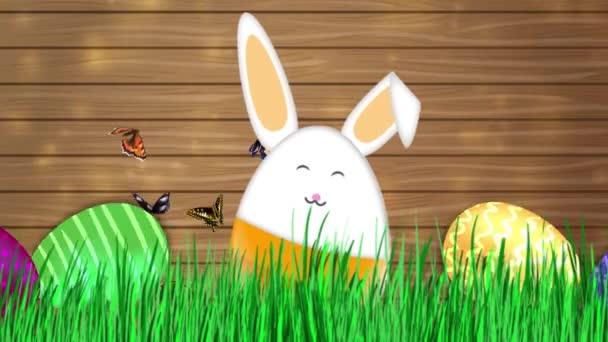 frohe Ostern - Osterhasen Videoanimation