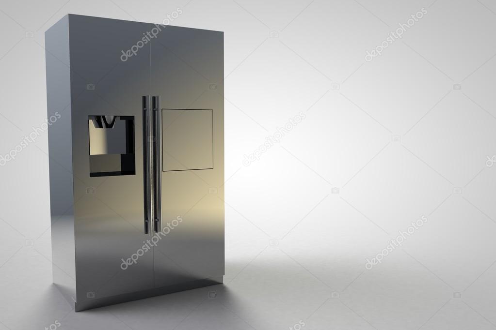 Kühlschrank Silber : Kühlschrank küche möbel design silber modern groß u stockfoto