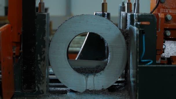 metal machining cutting blank detail