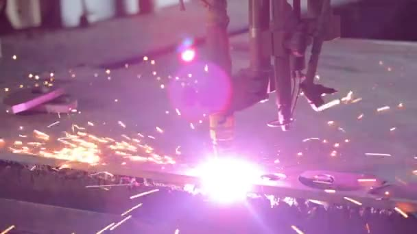 Průmyslové Plazmové řezání ploché ocelové plechy