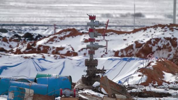 Albero Di Natale Petrolio.Beh Pad Con Un Pozzo Di Petrolio Attrezzature Di Albero Di Natale