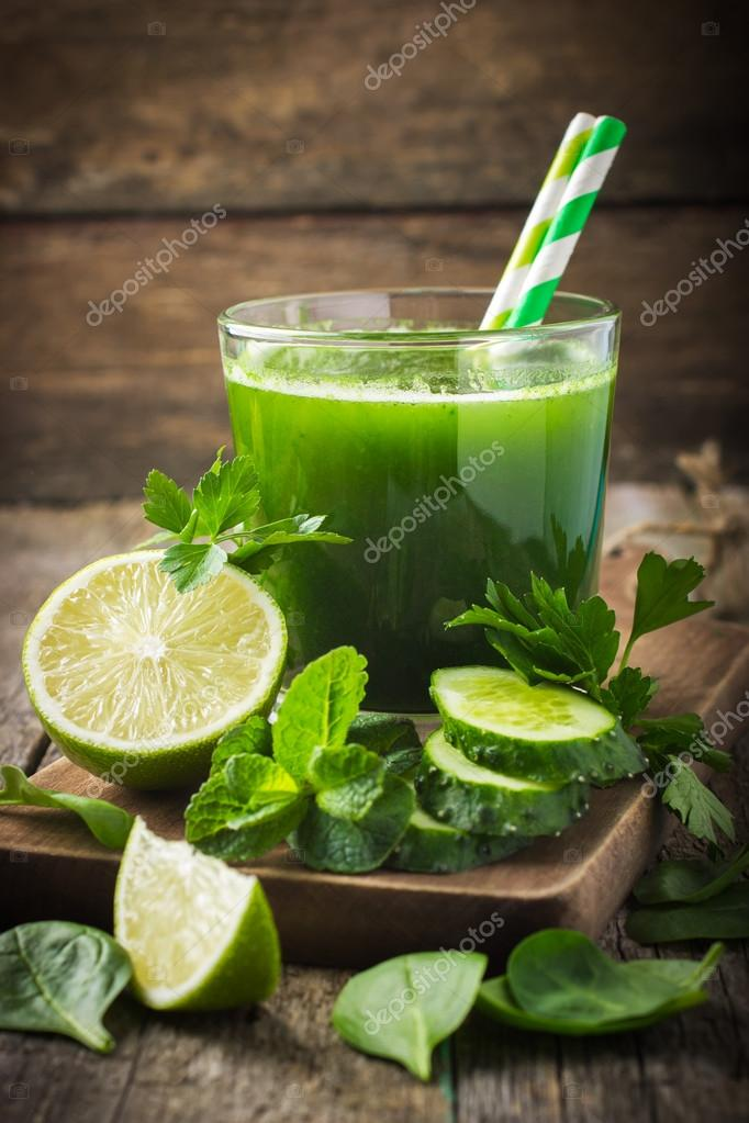 Fresh green smoothie