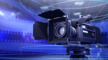Camera for movie and film