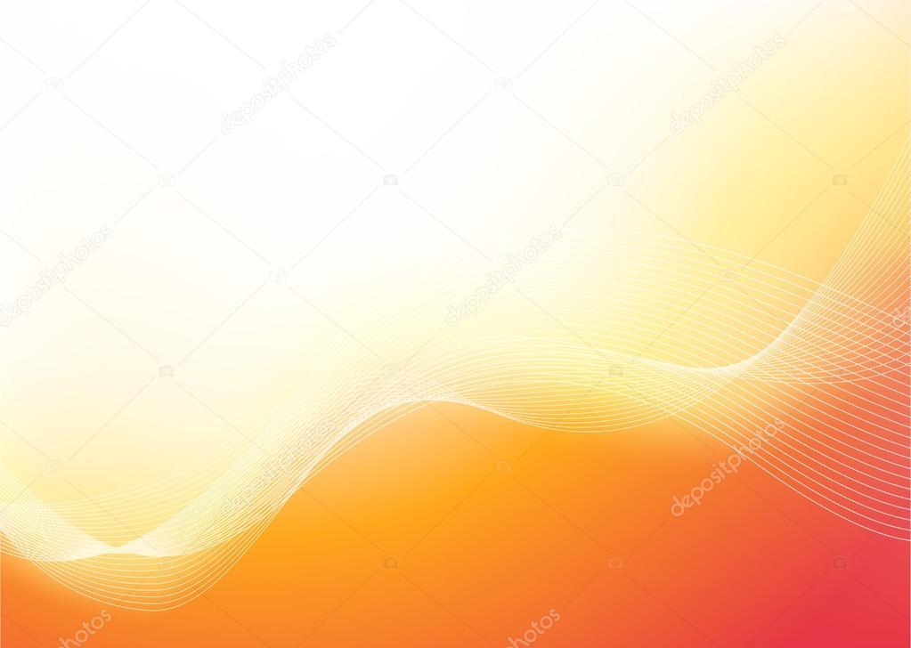 Mooie achtergrond in warme kleuren u2014 stockvector © morozicoff@yandex