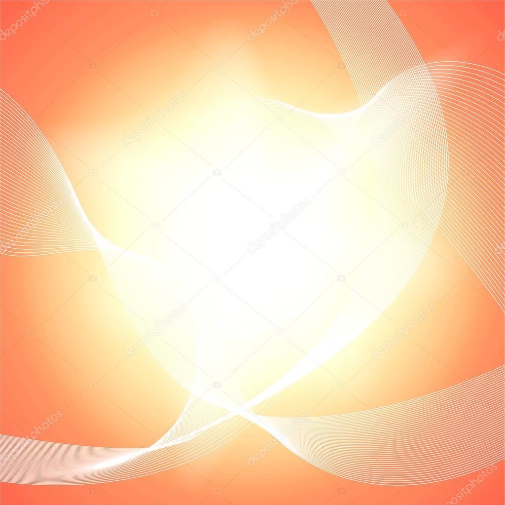 Light Orange Abstract Background Stock Vector C Morozicoff
