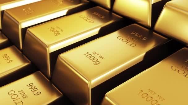 Arany rúd a bank páncéltermében.