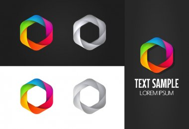 Coloful Shutters for logo