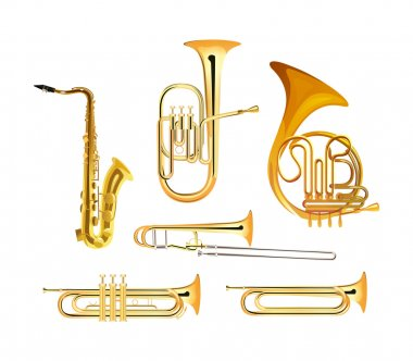 Brass Wind Orchestra Musical Instruments