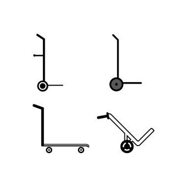 Haind truck icon vector design illustration,background icon