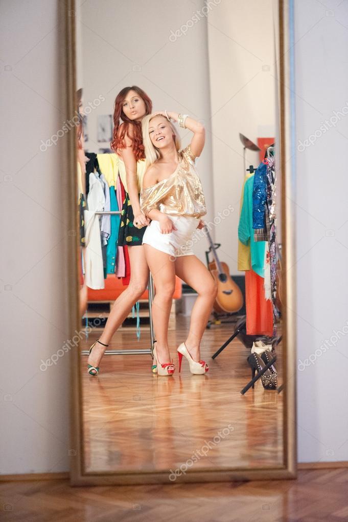 Two Amateur Girls Masturbating