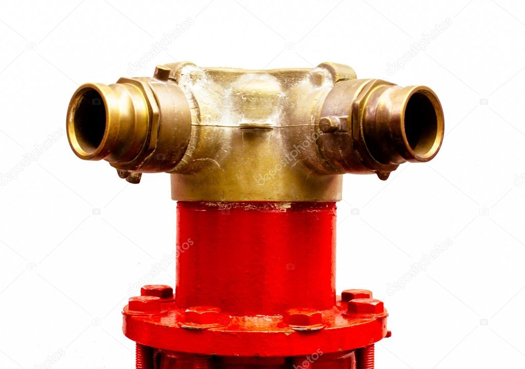 Water supply point. Equipment for fire fighting