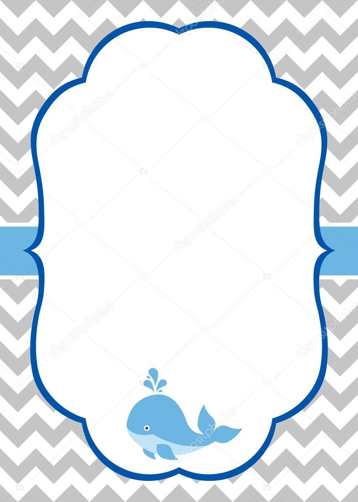 baby boy invitation card stock vector marlenes9 121207276