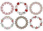 Photo Christmas wreath set