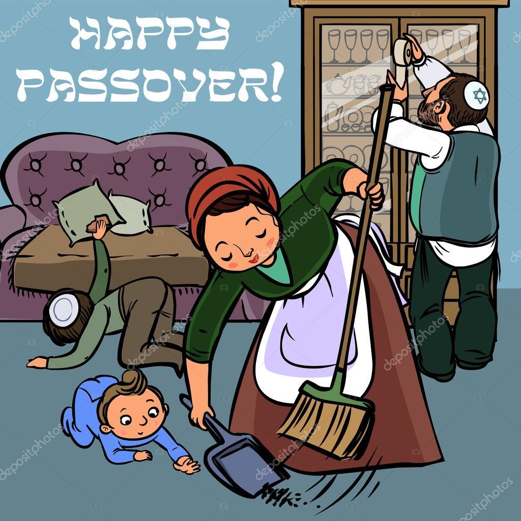 Funny happy jewish passover greeting card vector illustration funny happy jewish passover greeting card vector illustration stock vector m4hsunfo