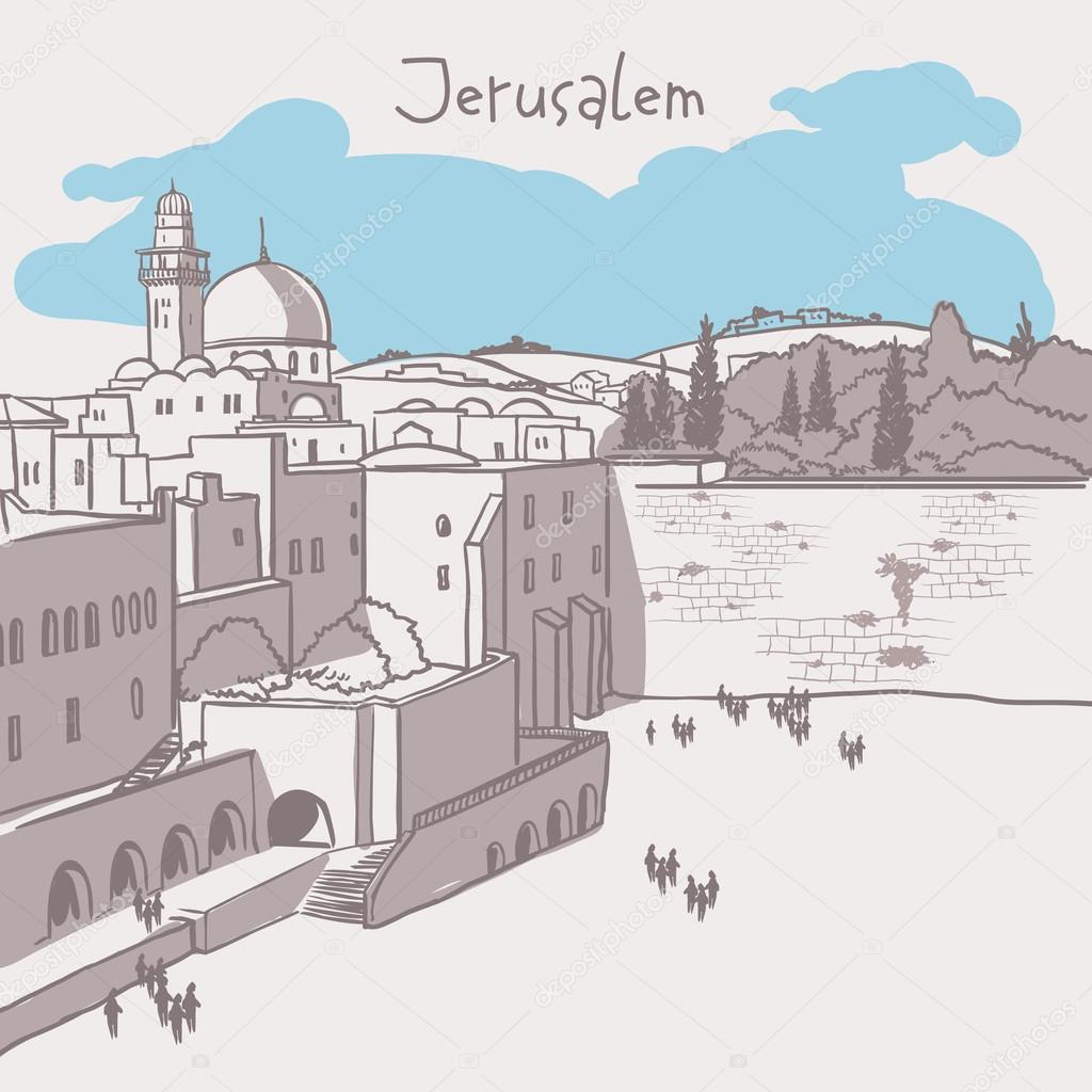 Jerusalem In Coloring Pages