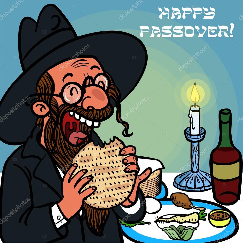 Еврейская открытка, картинки про