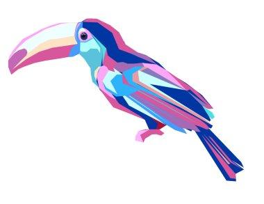 cute exotic bird