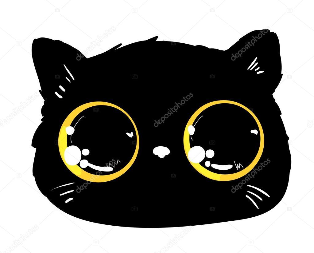 cat cartoon character.