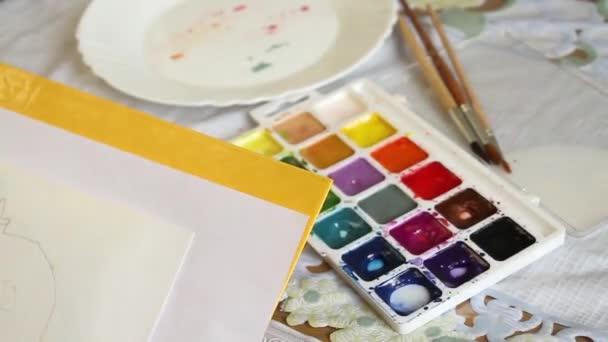 barevná malba
