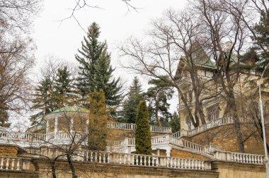 Sanatorium resort buildings.