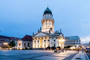 French Cathedral in Gendarmenmarkt, a famous square in Berlin