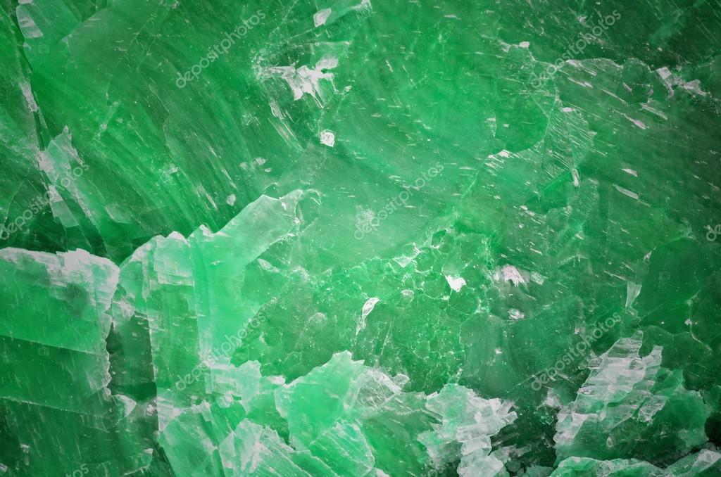 Struttura Di Pietra In Marmo Verde Come Sfondo Foto Stock