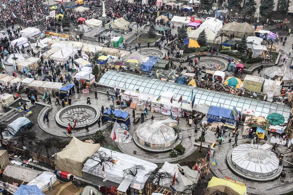 Maidan general view