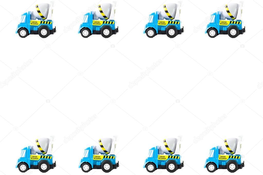 Marco de coches de juguete — Fotos de Stock © giggietto #70041649