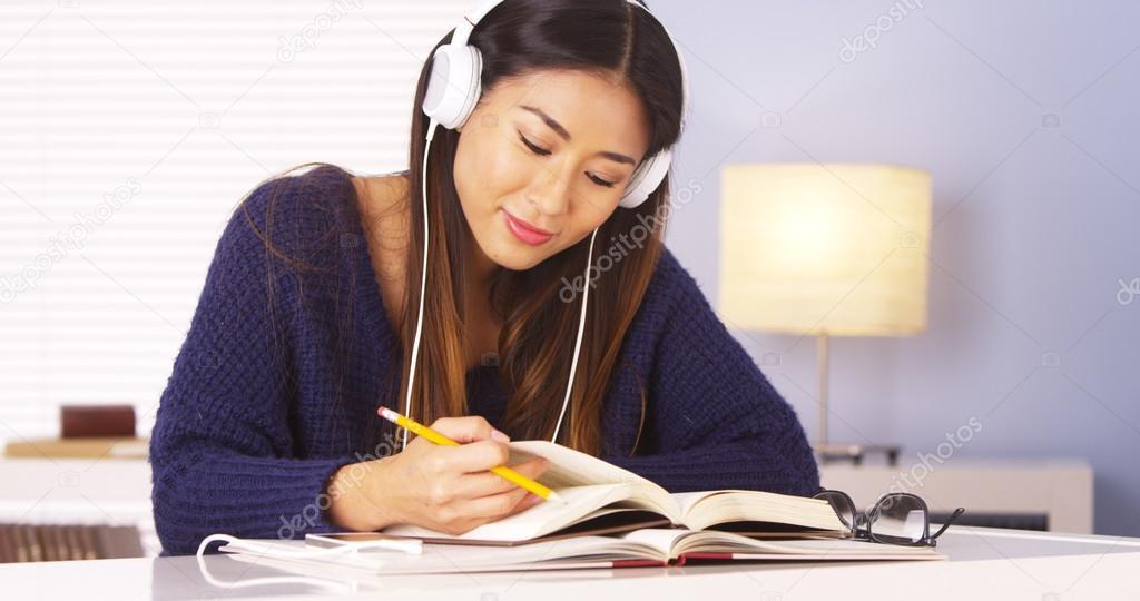music while doing homework