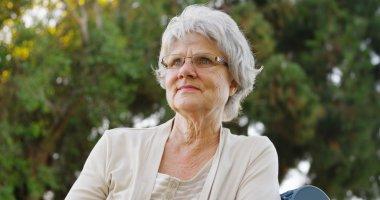 Senior woman enjoying the fresh air