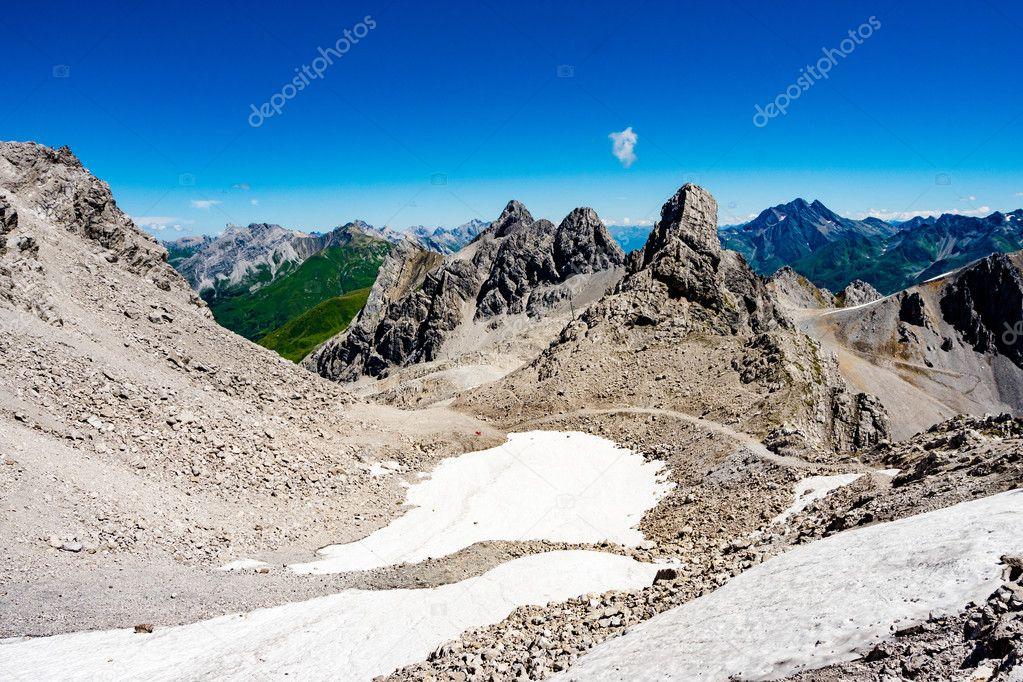 Alpine scenes around St. Anton am Arlberg