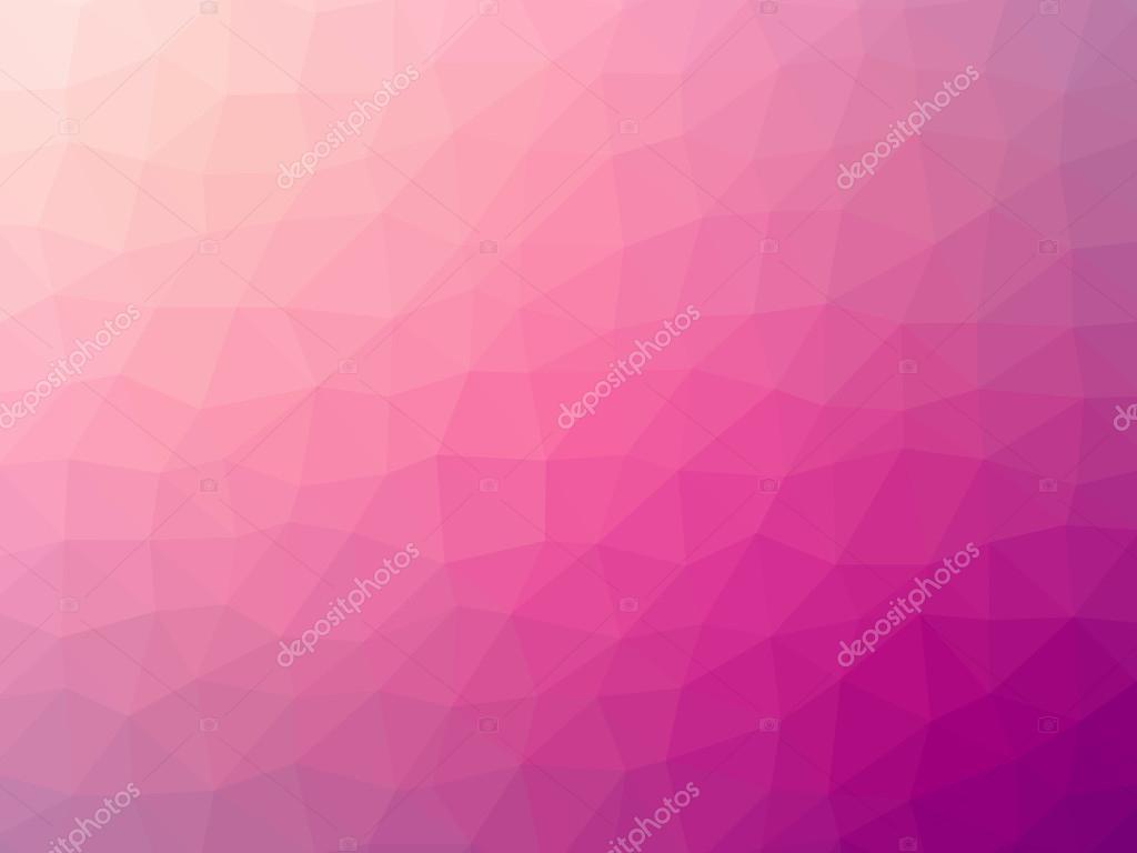 Sfumatura Rosa Poligono A Forma Di Sfondo Foto Stock Winterbee