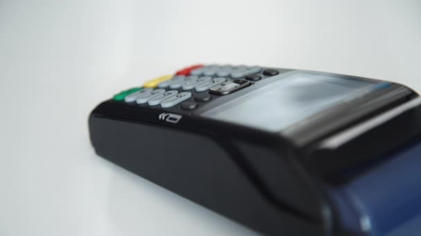 Payment with a credit card through terminal